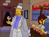 Гомер Симпсон - крёстный отец профсоюза