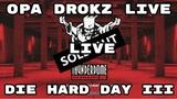 Thunderdome Opa Drokz Warm-Up TerrorUptempo HardcoreGabber at Die Hard Day III livestream