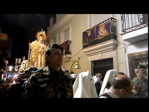 Procesion Virgen de Luz y Animas ALHAURIN de la TORRE 2018, Sabado de Pasion, 24/03