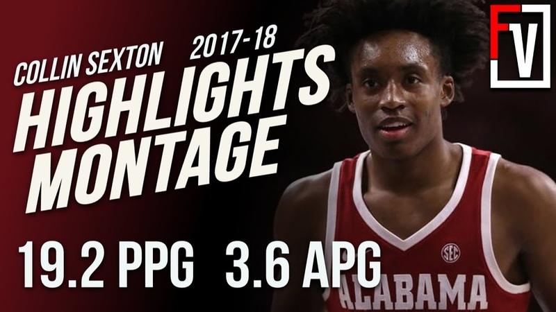 Collin Sexton Alabama Freshman Season Highlights Montage 2017-18 | 19.2 PPG. 3.6 APG, Young Bull!