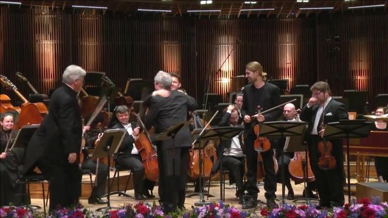 David Garrett - Vivaldi Concerto for Four Violins in B minor Mvt.1 n.10 Op. 3 - Tel Aviv 22_12_2016