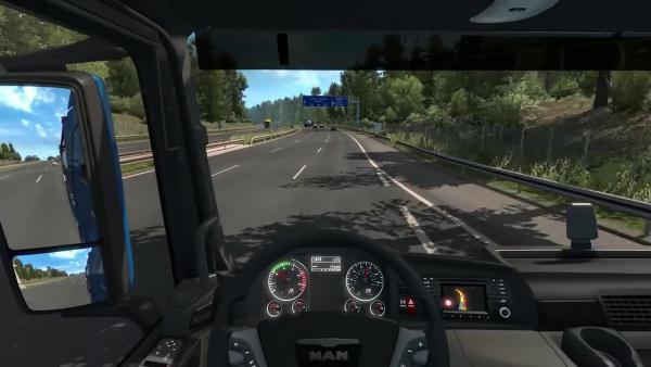 Euro Truck Simulator 2 Шоссе вокруг Нюрнберга Nrnberg