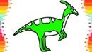 Как Нарисовать Динозавра для Детей 😉