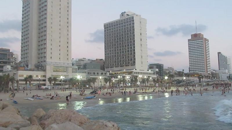 19.07.18 Вечер возле марины Тель Авив