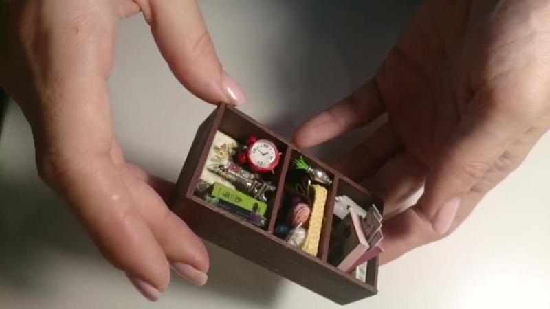 DIY Румбокс в фоторамке 10х15 - Roombox In a photo frame 10x15