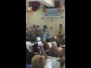 сіңлім Гулжайна ең үздік мейіргерлер байқауында Қолөнер пакеттен жасалған көйлек гранпри