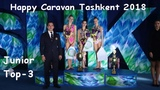 Happy Caravan Tashkent 2018 - Junior Top 3 All Around