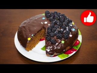 Шоколадный пирог из ничего в мультиварке, рецепт шоколадного пирога. рецепты для мультиварки, мультиварка. Выпечка