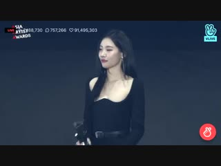 181128 SUNMI - Artist of the Year @ Asia Artist Awards