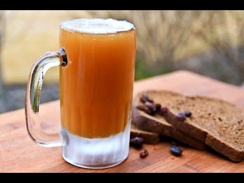 KVAS: come preparare in casa la bevanda russa di pane di segale