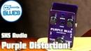 Musieewe Purple Distortion Pedal by SKS Audio