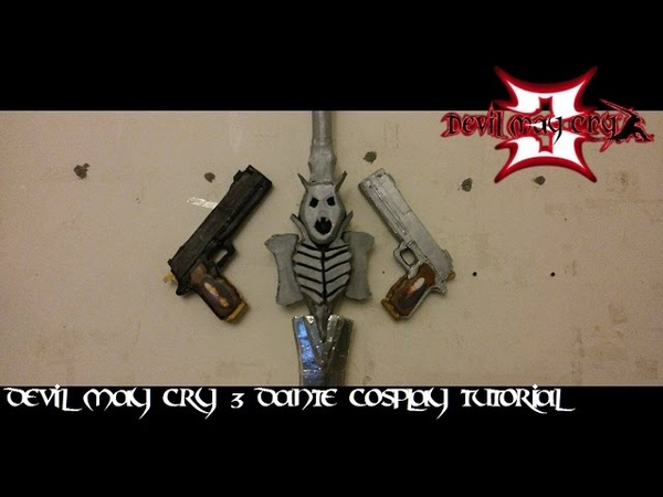 Devil May Cry 3 Cosplay Tutorial : Coating Painting Timelapse