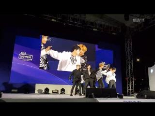 FANCAM   14.09.18   Chan ( Feeling+Raise Me Up+DWTD) @ UNB on KT