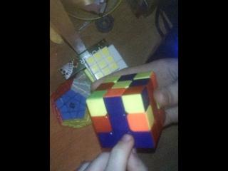 Обучение сборки кубика Рубика. Часть 1.
