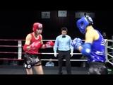 67 kg Nurtaza Jumakhanov (KAZ) - Nouredine Samir (UAE).Semifinal. Asia Championship 2018 (Macao)