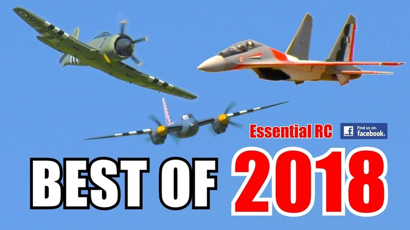 ① BEST OF ESSENTIAL RC 2018 | LARGE SCALE AND FAST RC ACTION COMPILATION