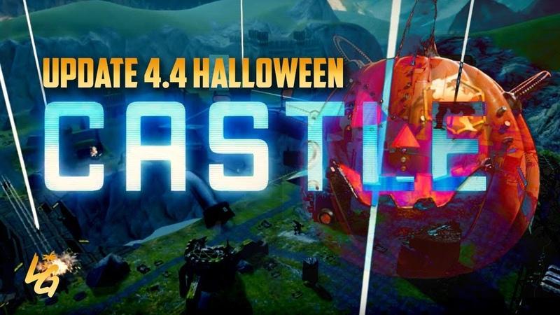 War Robots New Castle Map Tour | Halloween Update 4.4