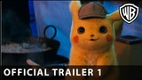 POKÉMON Detective Pikachu – Official Trailer #1 - Warner Bros. UK