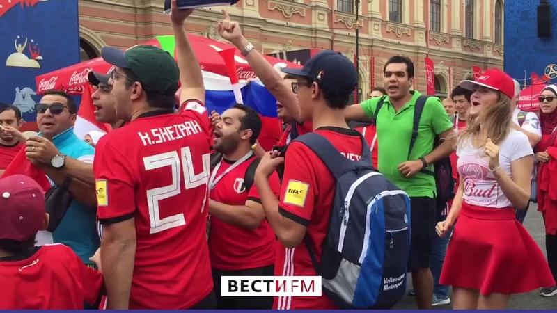 Праздник начался с утра: как Петербург готовится к матчу Россия – Египет