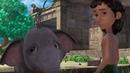 Маугли - Книга джунглей - Хлопоты с хоботом–развивающий мультфильм для детей HD