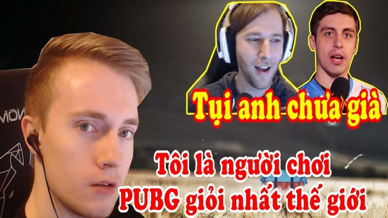 PUBG Highlights   Cao thủ Team Liquid tự nhận là người chơi PUBG giỏi nhất - Cậu bé giao cafe
