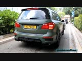700HP Brabus GL Revs, Accelerations, SOUND
