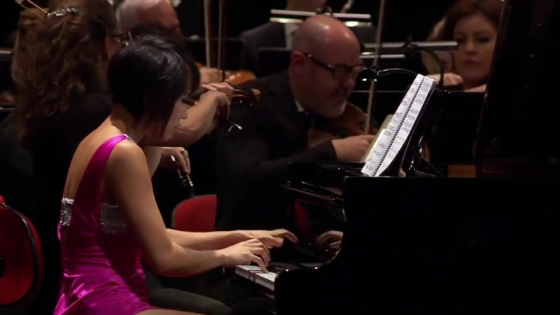 Yuja Wang_ Bartók Piano Concerto No. 1 [HD]