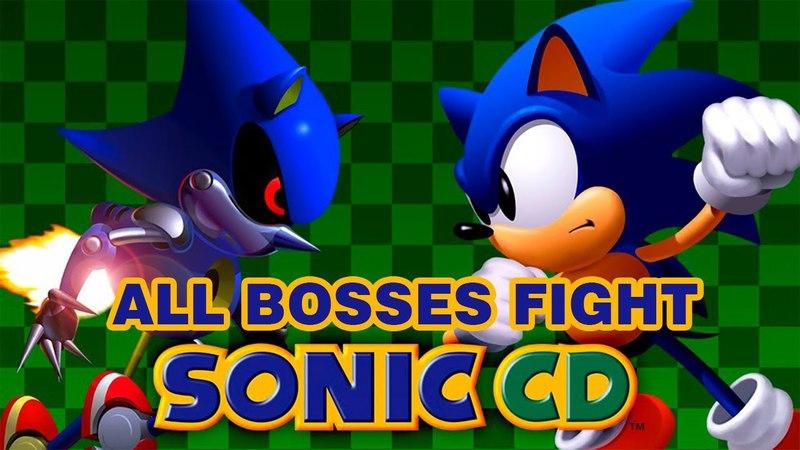 Sonic the Hedgehog CD (HD) ► All Bosses Fights