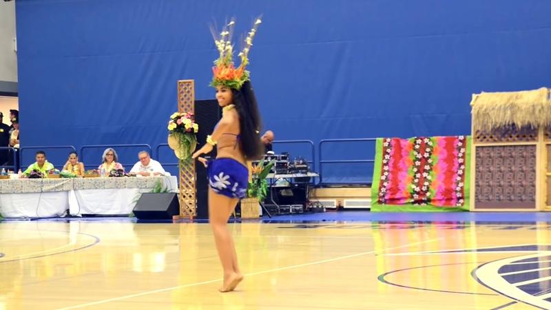 Melanie - Tahitian Dance - Meet the Fastest hips in the world