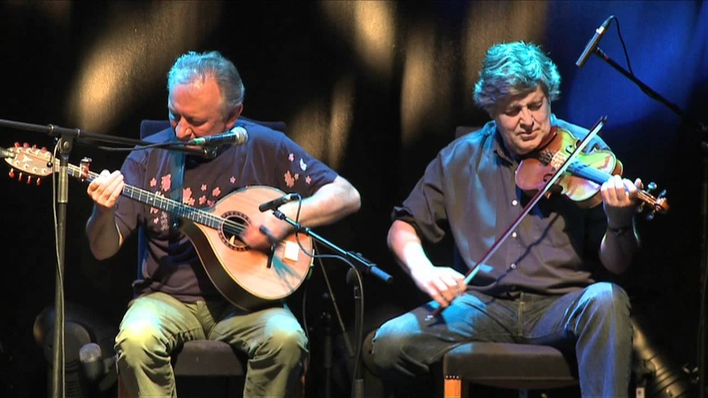 Donal Lunny Paddy Glackin Clip 2 Traditional Irish Music from
