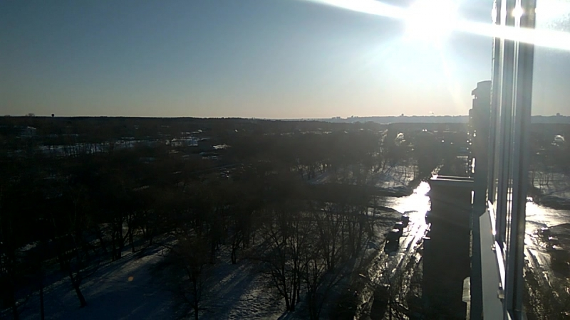 Ульяновск, вид на Димитровградское шоссе