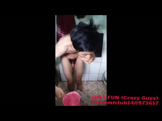 Spy in shower indonesia член хуй голый naked cock penis стриптиз striptease душ