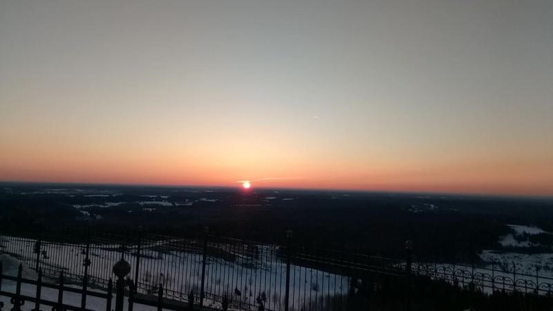 Восход на Белогорье
