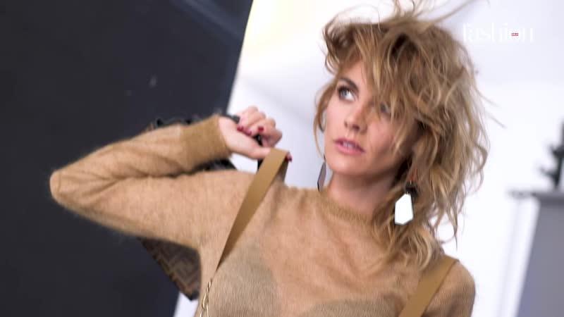 Amaia Salamanca- making of de su reportaje en Fashion noviembre