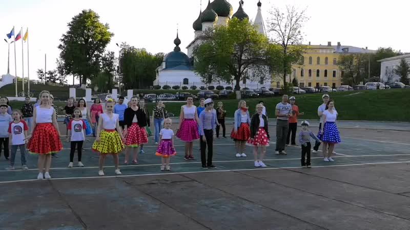 Репетиция на Спартаковце.