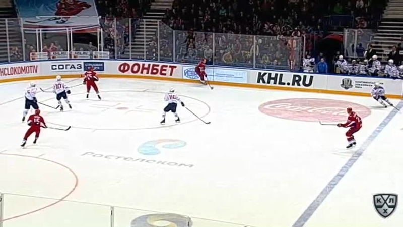 Моменты 2017/2018 • Зубарев удалён до конца игры 17.09