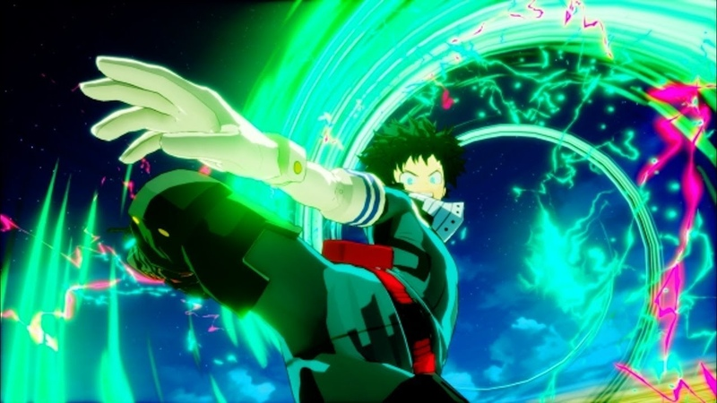 My Hero One's Justice Shoot Style Deku DLC Update and Patch with English Release