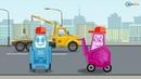 смотреть мультики про синий трактор мультфильм про Машинки Видео для детей Все Серии Подряд