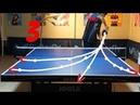 Best Table Tennis Serves Tutorial. (Pt 3: fastest, backhand, pendulum) TOMORROW TABLE TENNIS