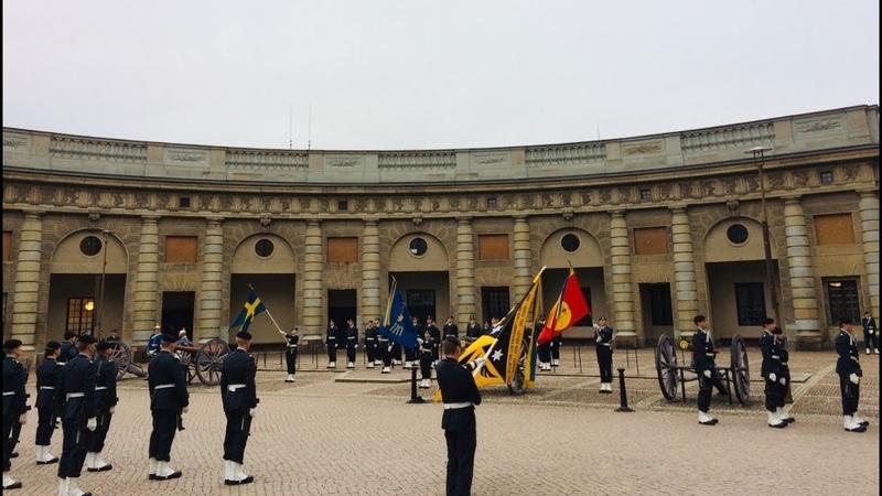 Стокгольм. Смена караула и смотровые площадки