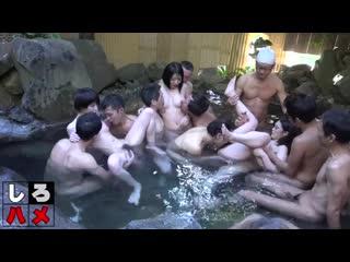 Heydouga 4017-PPV233-2 Kanami Momo общественная баня в японии сауна азиаточки оргия групповуха ебут всех сауна куни раком
