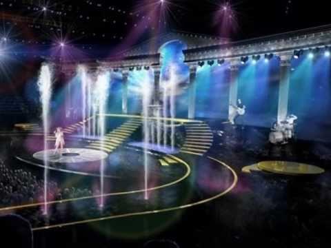 EXCLUSIVE Kylie Minogue stage 3D view - Aphrodite Les Folies Tour 2011 [www.youtube.com/dnibcn]