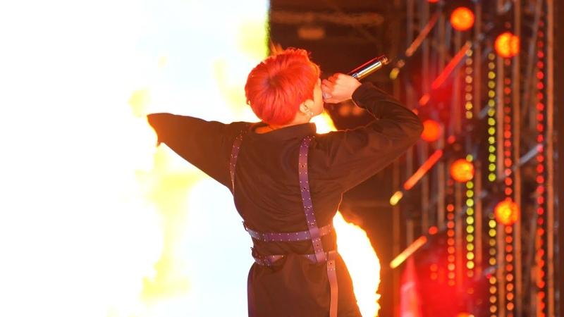 180622 롯데패밀리콘서트 불타오르네 FIRE (JUNGKOOK focus) BTS 방탄소년단 정국 직캠