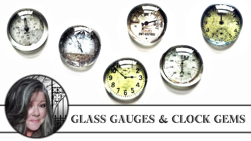 Make Awesome Glass Gauges and Clock Gems!