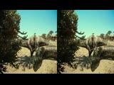 Динозавры_ Гиганты Патагонии 3D FullHD (Горизонтальная анаморфная стереопара)