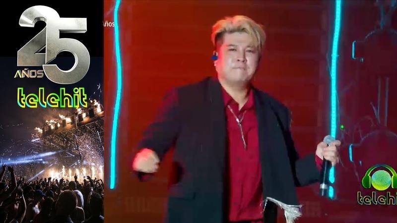¡Super Junior canta al ritmo de Luis Miguel! |Telehit 25 años