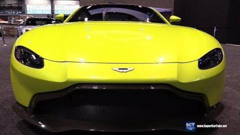 2018 Aston Martin Vantage - Exterior Walkaround - 2018 Chicago Auto Show