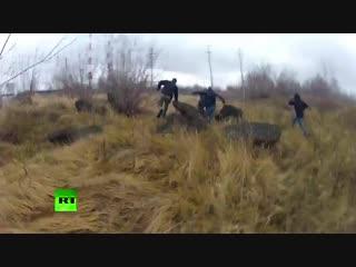 Задержание террористов в Татарстане