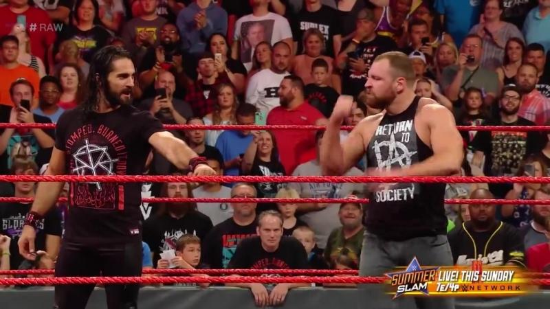 RAW: Dean Ambrose Returns Before SummerSlam (Aug. 13, 2018)