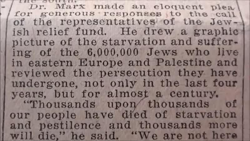 SIX MILLION JEWS 1915-1938 HD - YouTube